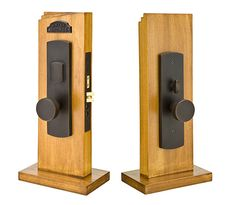 Hailey Mortise | Rustic | Mortise Knob by Knob / Lever by Lever Entry Sets | Emtek Products, Inc.