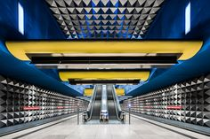 Check out these cool urban shots from 20 year old photographer Chris Forsyth. Going Underground, in various cities such as Berlin, Munich and Stockholm, th
