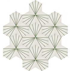 Moroccan Encaustic Cement Hexagonal Tile Artic-24-hex