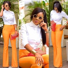 WDN Stylespiration: Our New Style Crush is Tracy Iddrisu…Be Wowed with her Fab… - corporate attire women Corporate Outfits For Women, Love Fashion, Fashion Outfits, Womens Fashion, Ladies Fashion, Fashion Ideas, African Fashion, African Wear, African Women