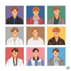 Cute Illustration, Character Illustration, Kpop Fanart, Abstract Pattern, Nct Dream, Cute Cartoon, Cute Drawings, Cute Wallpapers, Cute Art