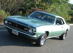 1968 Chevrolet Camaro 327 in Grecian Green