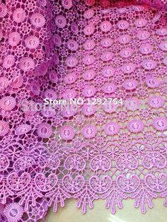Free shipping! TS838 Wholesale price  5 yards High quality   Cupion  / Guipure lace fabric 100% Polyester