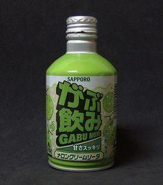 Sapporo - Gabu Nomi - Melon Creamy Soda