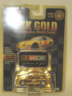 24K Reflections in Gold #9  Racing Champions  Diecast 1/64 #RacingChampions