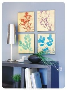 DIY Create Your Own Painting With Different Herbs