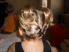 Girl Hairdos & Ideas: tuck under knots