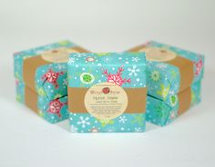 First Snow Goats Milk Soap Bar by WickedSoaps by WickedSoaps, $6.00