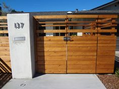 Talk about Curb Appeal! A contemporary entrance to a 1960's Ranch