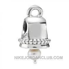 http://www.nikejordanclub.com/pandora-silver-and-white-pearl-bell-charm-790517p-new-style.html PANDORA SILVER AND WHITE PEARL BELL CHARM 790517P NEW STYLE Only $13.51 , Free Shipping!