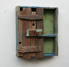 Driftwood cupboard, Driftwood cabinet, Driftwood furnitur