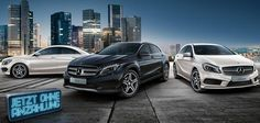 Mercedes-Benz A-Class, CLA, GLA Street Style Special Edition - Mercedes-Benz introduced the Street Style version for their three models, the Mercedes-Benz