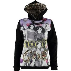 Felpa cappuccio Hooli donna - € 44,90 | Nico.it - #hooli #hoodies #felpe #streetstyle #trends #fashiontrends #fashion #moda #nicoit