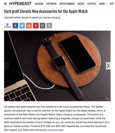 UK based hard graft presents two new additions to its luxury accessories lineup. The leather goods manufacturer has turned its attention to the Apple Watch for this latest release, which is comprised of the Rest Station and Apple Watch Token charging accessories. The former is a premium leather and wool resting station featuring a magnetic charger compartment, while the latter attaches to the bottom of your charger so you can avoid any scratching when placing it on a glass or marble surface.