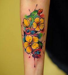 Vibrant Tattoos By Anton YellowDog