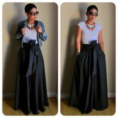 DIY Maxi Skirt....