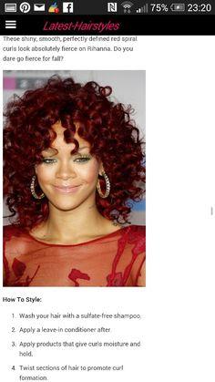 Rhianna red??