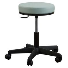 Oakworks Height Adjustable Premium Stool Color: Sage