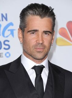 Colin Farrell. Yes, I am quite attracted to this man but it isn't just because he's handsome. He seems like a goodhearted person and is a very underrated actor.