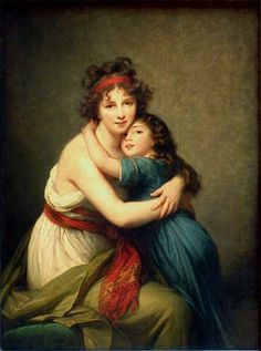 Madame Vigee-Le Brun and her daughter, Jeanne-Lucie-Louise