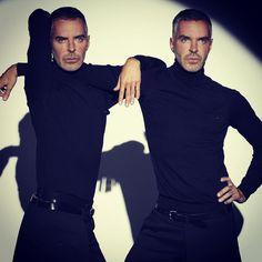 Dan and Dean Caten . #Dsquared2 #Caten #Designers
