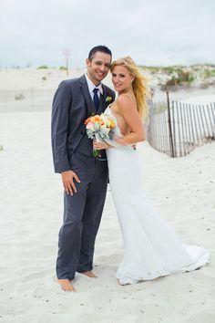 LONG BEACH WEDDING: JENNIFER + JON. Wedding dress Katie May, beach wedding, wedging ideas