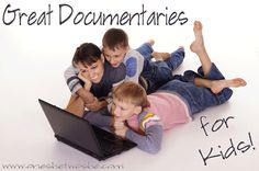Great documentaries for kids (and adults)! www.oneshetwoshe.com #movies #documentaries