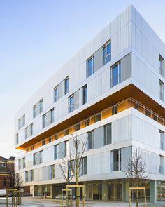 atelier zundel cristea AZC residential care home nursery paris designboom