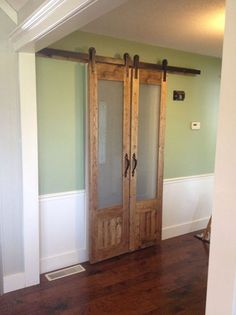dress up the mess sliding doors to laundry room, diy, doors, how to, laundry rooms