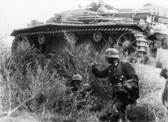 Немецкая пехота, битва за Сталинград, сентябрь 1942 года.  Фото Bundesarchiv.