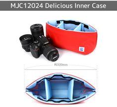 一眼レフカメラバッグインナーバッグソフトクッションボックス日本製MOUTHDeliciouscaseMJC12024TRICO[カメラケース][インナーケース][MADEINJAPAN][マウス]