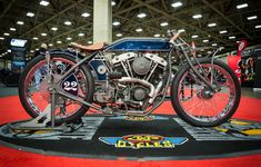 The 2018 National Championship of the J&P Cycles Ultimate Builder Custom Bike Show.