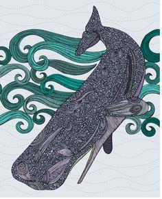 Kunstdruck Deep Violet von Valentina Ramos in Grau Americanflat Ocean Art, Painting Edges, Stretched Canvas Prints, Frames On Wall, 5 D, Framed Artwork, Canvas Wall Art, Graphic Art, Art Prints