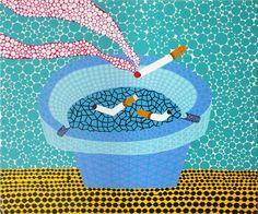Ashtray by Yayoi Kusama on artnet