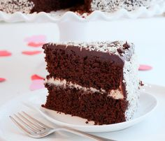 Tish Boyle Sweet Dreams: Love-Struck Chocolate Cake with White Chocolate Coconut Filling