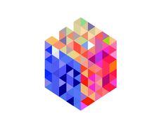 Pattern Design, Graphic Design, Personal Work, Squares