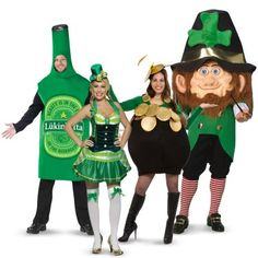 St Patricks Day Group Costumes | 804911 | 2014