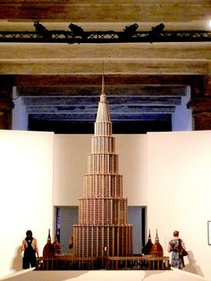 IN 1955, Marino Auriti filed a design with the US Patent office depicting his Palazzo Enciclopedico (The Encyclopedic Palace), an imaginary museum that was meant to house all worldly knowledge, bringing together the greatest discoveries of the human race, from the wheel to the satellite. Auriti's plan was never carried out, of course, but the dream of universal, all-embracing knowledge crops up throughout history. This is the starting point of Massimiliano Gioni exhibition. Photo by Enrico…