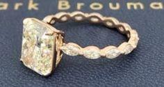 Yellow Diamond Rings, Gold Rings, Diamonds, Sparkle, Pearls, Jewelry, Jewlery, Jewerly, Beads
