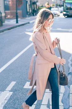 The new neutral - Jess Kirby fall style in blush
