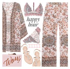 """Happy Hour"" by shoaleh-nia ❤ liked on Polyvore featuring Frogbox, Aquazzura, Ted Baker and River Island"