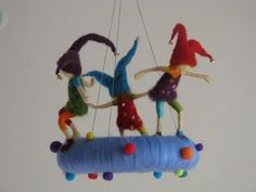 Naughty pixie's needle felted waldorf inspired by Made4uByMagic, $160.00