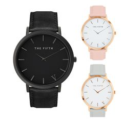 THE FIFTH Watches  #love #cute #beautiful #happy #summer #fashion #like #cool #amazing #night #style #2017 #best #photooftheday
