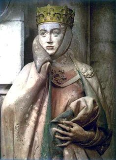 Eckhart II, Margrave of Meissen and his wife Uta by an unknown German gothich sculptor, c. 1245-50