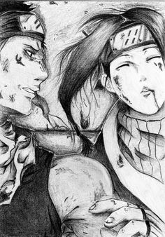 Zabuza and Haku by ~AssassinsGeass on deviantART
