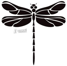 Dragonfly Stencils on Stencil Revolution | crea bea | Pinterest ...