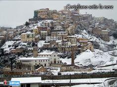 Corigliano under the snow - Italy
