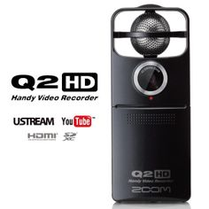 """ZOOM Q2HD Handy Video Recorder 9.800 ДЕН """"Play, capture, and stream with full HD video, and uncompressed audio recording """""""