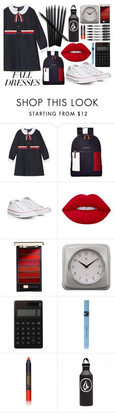 """Untitled #979"" by helenaki65 ❤ liked on Polyvore featuring Gucci, Tommy Hilfiger, Converse, Lime Crime, L'Oréal Paris, Infinity Instruments, Sharpie, Muji, COOLA Suncare and Lipstick Queen"