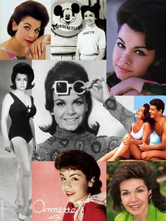 """#RIP Annette Joanne Funicello (Oct. 22, 1942 - Apr. 8, 2013) was an American actress & singer who began her career at the age of 12. She rose to prominence as one of the most popular """"Mouseketeers"""" on the original Mickey Mouse Club. As a teenager, she transitioned to a successful career as a singer & as a film actress, popularizing the successful """"Beach Party"""" genre alongside co-star Frankie Avalon during the mid-1960s. Funicello announced in 1992 that she suffered from multiple sclerosis."""